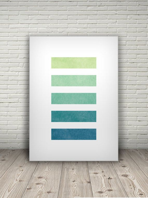 ABSTRACT sea art, geometric wall decor, beach house decor, printable poster, modern art print, ocean poster, nautical art print, blue green  Files: 12 images | Format: .jpg | Resolution: 300dpi | Dimensions: A0, A1, A2, A3, A4, A5, 5x7in, 8x10in, 11x14in, 16x20in, 24x36in, 27x40in  Contains ADRIFT print in 12 sizes. Designed to be printed out for wall decor, tabletop decoration, desk photo, birthday card, or any other print purpose. You can find more digital art prints here: http://...