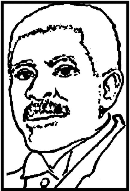 Free George Washington Carver Coloring Page