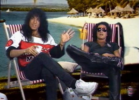 Paul Stanley and Gene Simmons