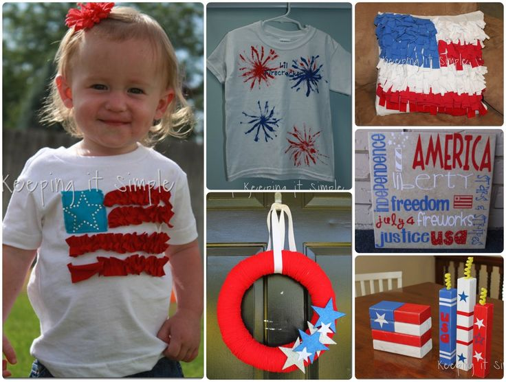 Keeping it Simple: 4th of July Crafts