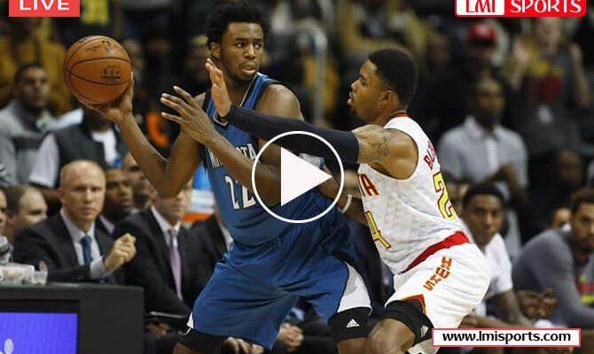 Atlanta Hawks Vs Minnesota Timberwolves Nba Live Stream