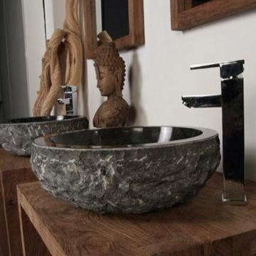 Die besten 25+ Bad Waschbecken Rock Ideen auf Pinterest DIY - quarzstein badezimmer