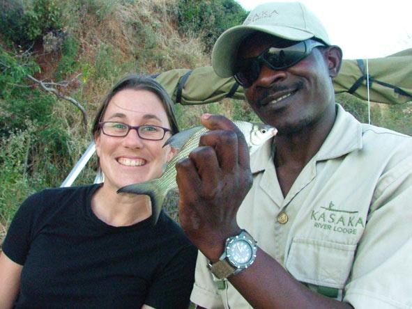 Bonita fishing on the Zambezi River