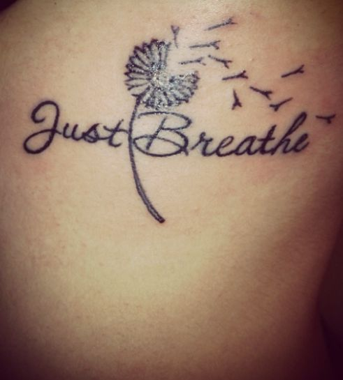 Just Breath Art Tattoo