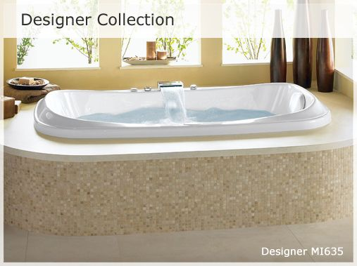 the jason designer collection is our flagship collection and sets the standard high for luxury bath design and