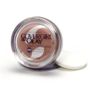 CoverGirl Simply Ageless Sculpting Blush, Royal Plum 220, 0.4-Ounce Jar by COVERGIRL. $15.95. Help improve skin texture to give you an instantly healthy-looking, youthful glow. Olay regenerist serum inside is infused with vitamins, skin conditioners and anti-oxidants. Gives flatteringly flawless coverage. Glides evenly over cheekbones. Creamy color defines cheekbones and stays suspended over fine lines and wrinkles. Amazon.com                Meet an instant anti-ager. Simpl...