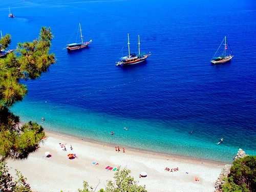 Olimpos Beach, Turkey. Turkey has some of the world's best beaches.