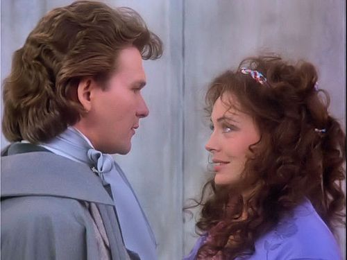 Patrick Swayze and Lesley-Anne Down in North and south (1985 - 1986 - 1994):