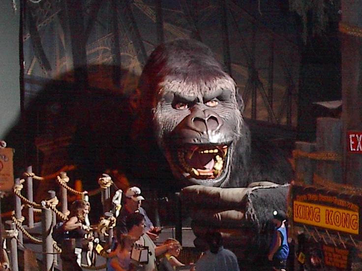King Kong Skull Island Ride