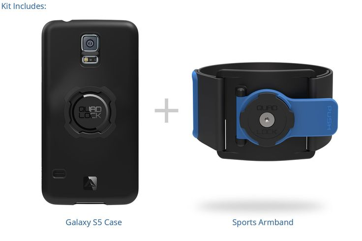 Quad Lock ‐ Running Kit - Galaxy S5