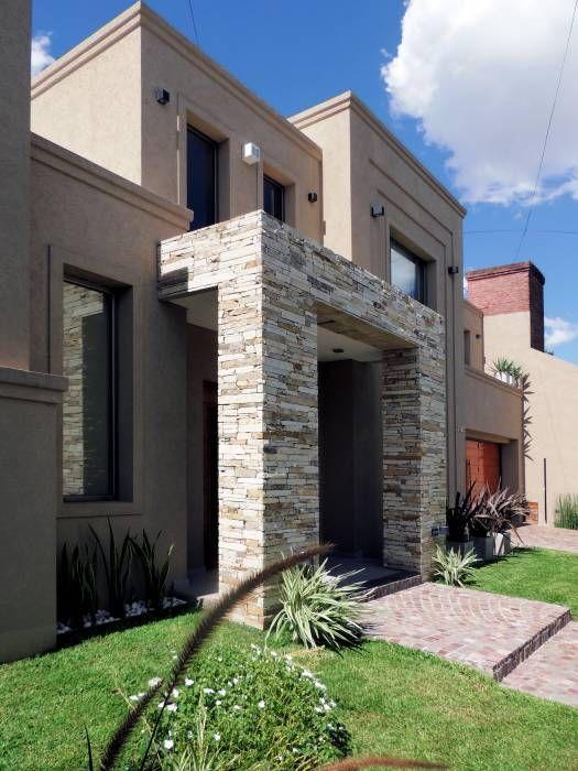M s de 1000 ideas sobre fachadas de casas coloniales en for Fachadas de casas modernas con negocio