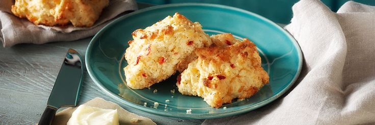 Savory Pimento Cheese Drop Biscuits Recipe | Gourmet Recipes | The ...