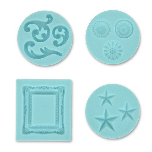 Martha Stewart silicone mold - 43-00014-0- Frame and flourishs