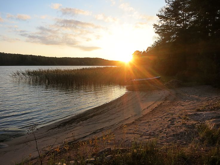Somewhere near Tenala in Finland. A small beach by a finnish summer cottage (by Savier)