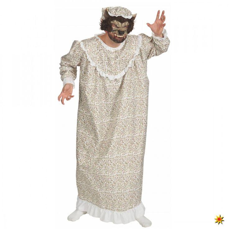 Wolk im Nachthemd, Kostüm für Fasching
