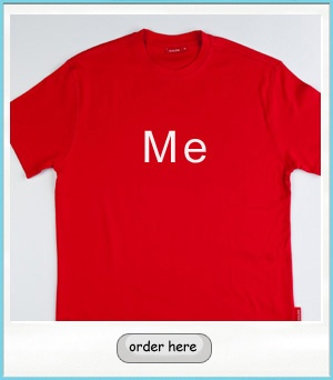 """""""Me"""" shirt for adults"""