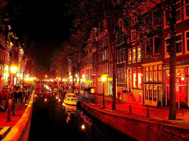 Is it wrong that I love the red light district so?