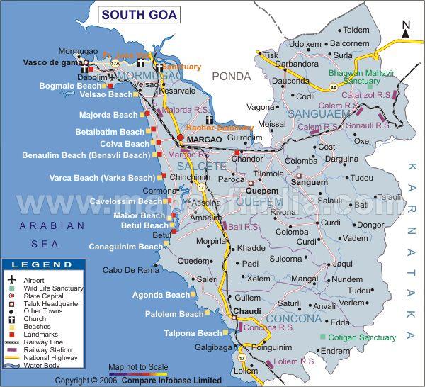 South Goa District Map http://www.mapsofindia.com/maps/goa/districts/southgoa.htm