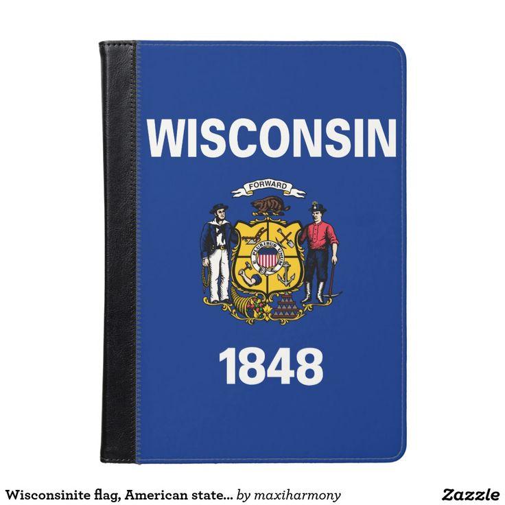 Wisconsinite flag, American state flag