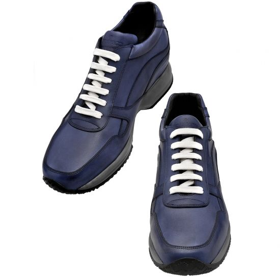 Toronto - sneakers con rialzo interno e invisibile per un look unico e originale. Diventa più alto con Guidomaggi!  http://www.guidomaggi.it