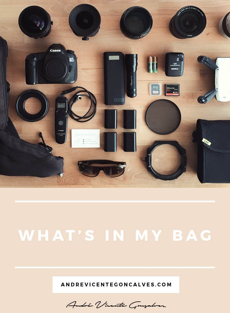 Andre Vicente Goncalves | Blog Post - What's in my bag | Camera Gear and Photography Equipment I use #whatsinmybag #cameragear #photographer