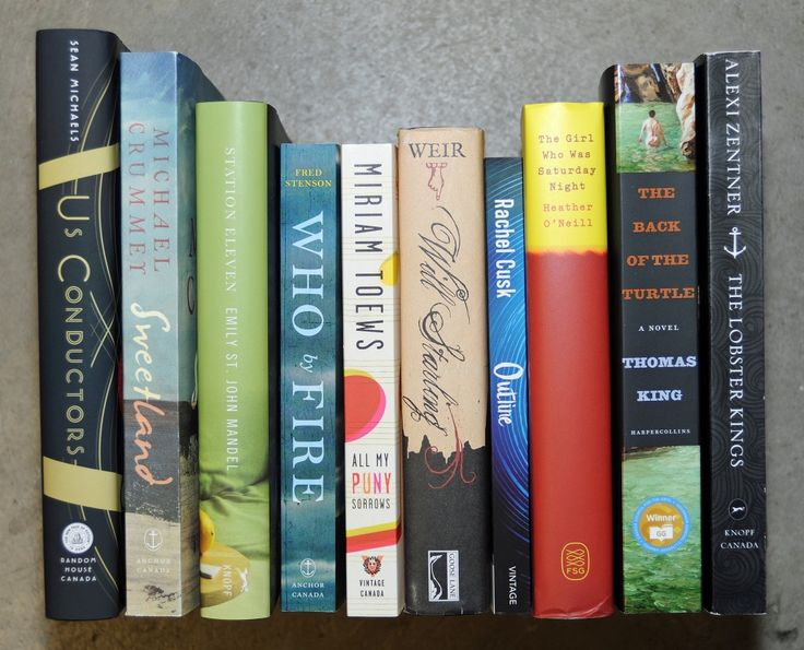 """""""10 Canadian novels are among 160 titles that have been nominated by libraries worldwide for the €100,000 International DUBLIN Literary Award, the world's most valuable annual literary prize for a single work of fiction published in English."""""""