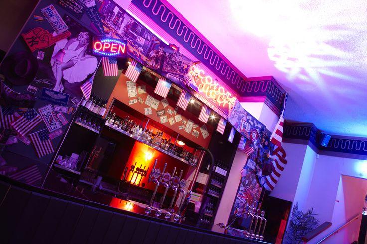 Coyote Ugly Bar at Athena.  Manhattan Christmas Parties 2014.   Photo Credit Vivid Experience Ltd.
