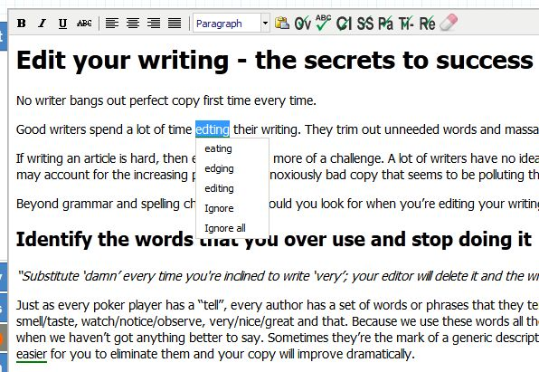 Bloggers: 6 Free Editing Tools For Better Writing - Hongkiat