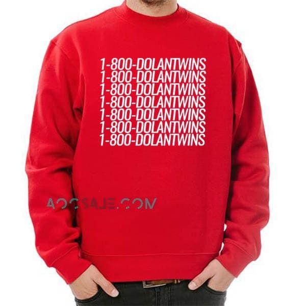 1b02bea83 Graphic Tees, Graphic Sweatshirt, Dolan Twins Sweatshirt, Funny Tee Shirts,  Unisex,