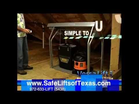 Best Versa Lift And Versa Rail The Attic Lift Storage And 400 x 300