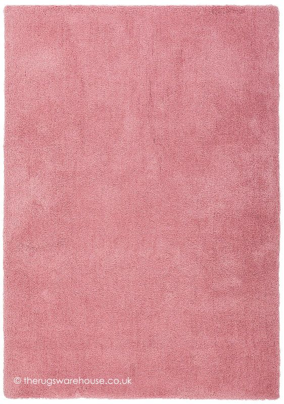 Velvet Pink Rug A Soft To The Touch 100 Micro Polyester Hand Tufted
