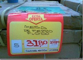 Confira alguns anúncios de supermercados que não fazem o menor sentido, mas são super engraçados (MESMO!).