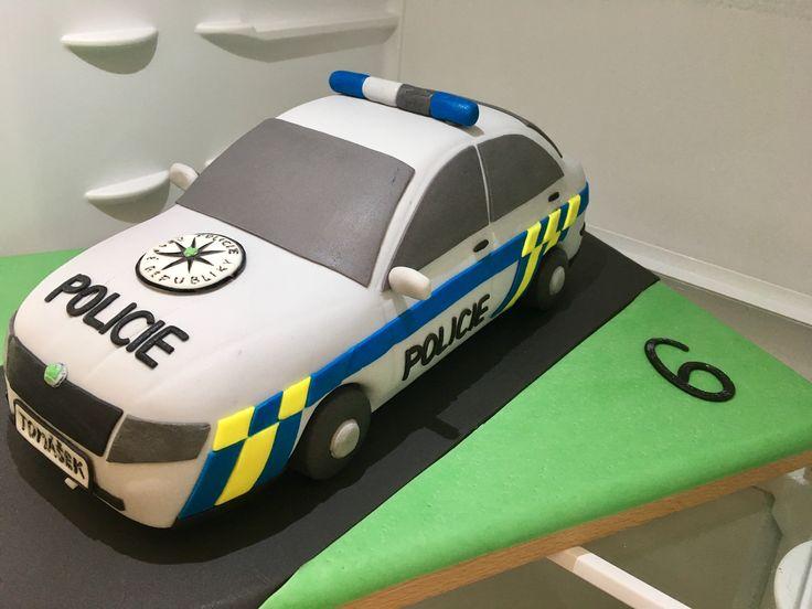 Police Car Cake, dort auto policie