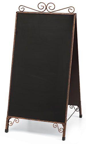 A-Frame Chalkboard Sign - Cobblestone