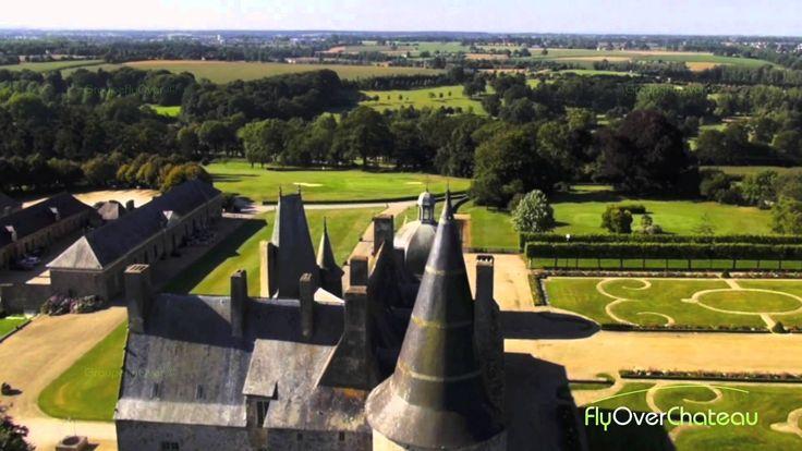 Demeure de Mme de SEVIGNE, le Château des Rochers Sevigné (Long)