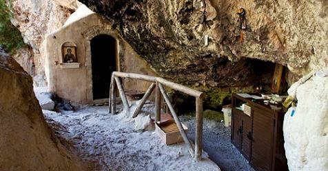 Μωσαϊκό: Στο Φαράγγι της Πατσού ή Αγίου Αντωνίου στο Ρέθυμν...