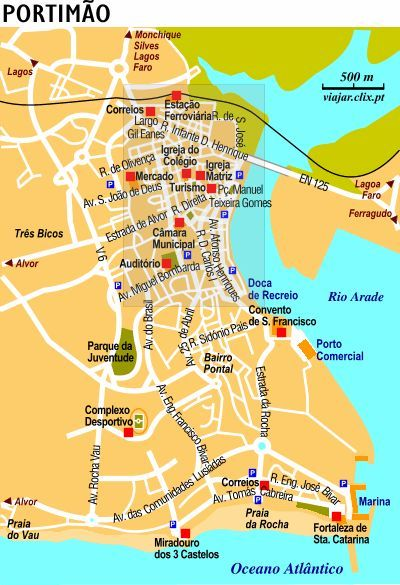 Best Algarve Portugal Images On Pinterest Algarve Visit - Portugal map algarve region