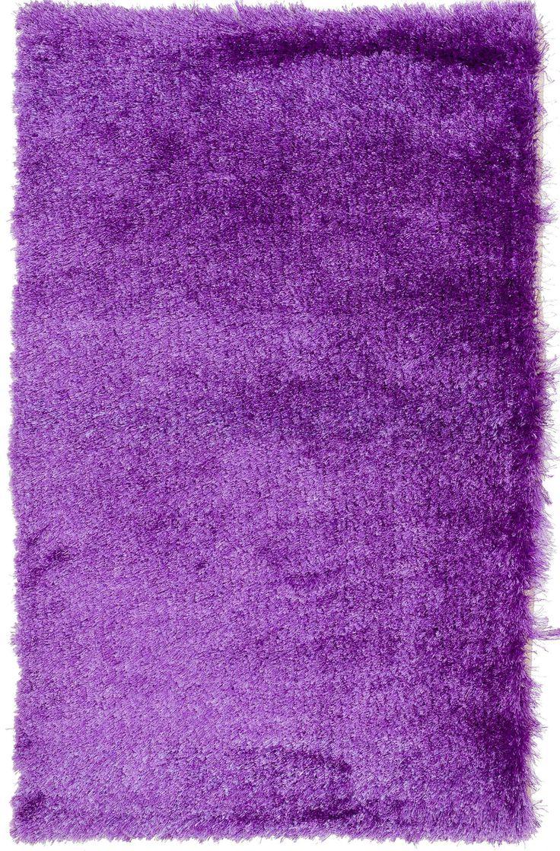 3x4 Purple Shag Rug
