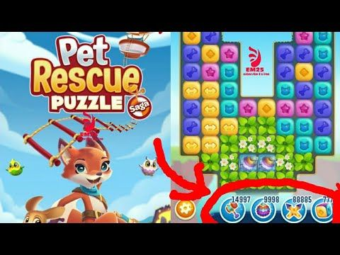 Pet rescue puzzle saga game bosters hack | get unlimited