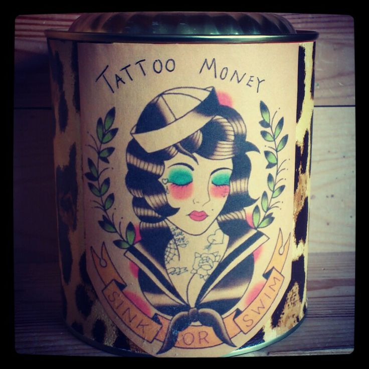Tattoo money. By Katrine Svinth
