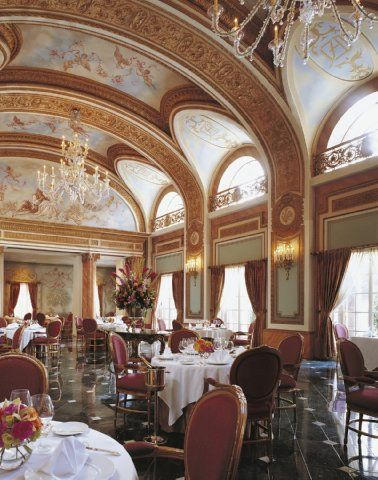 It's always an event at the French Room of the Adolphus Hotel in Dallas