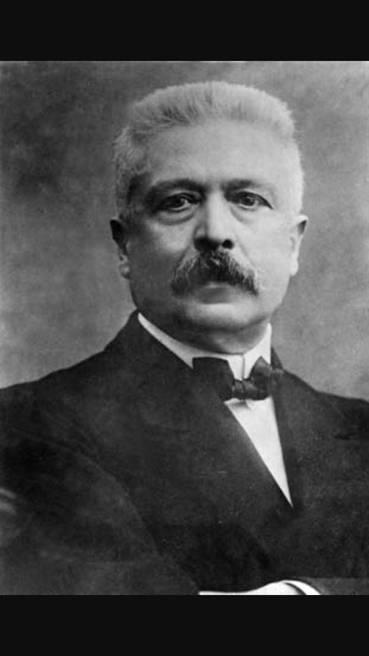 Vittorio Emanuele Orlando, rappresentante dell'Italia nella conferenza della pace.