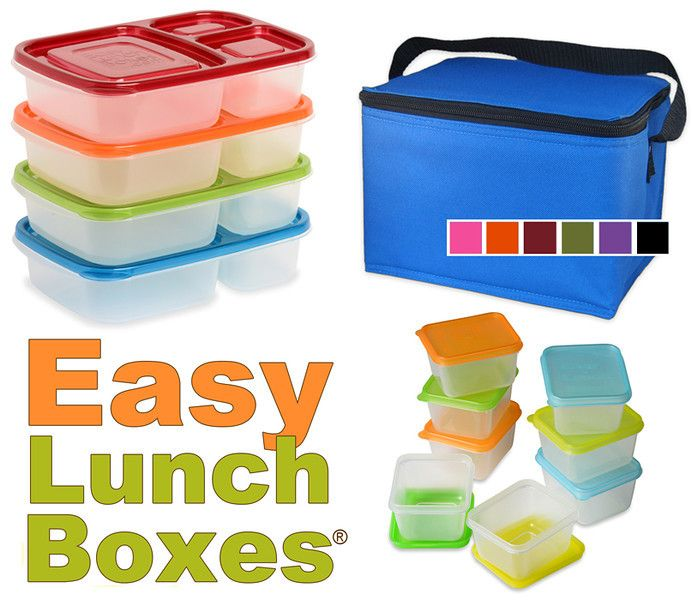 Packing School Lunches in Easy Lunchboxes {Giveaway}