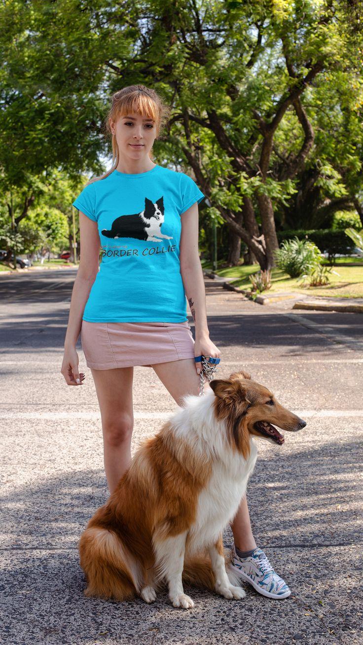 border collie video  collie hund hunde shirt hunde