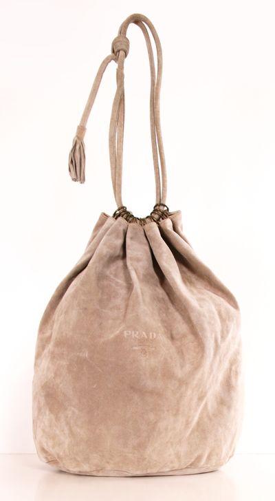 Prada Suede Hobo Bag <3