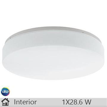 Plafoniera LED iluminat decorativ interior Eglo, gama Beramo, model 93583
