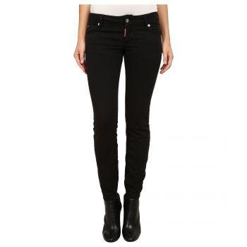 Blugi negri Twiggy Jeans Black de dama de la unul dintre cele mai cautate brand-uri Dsquared2