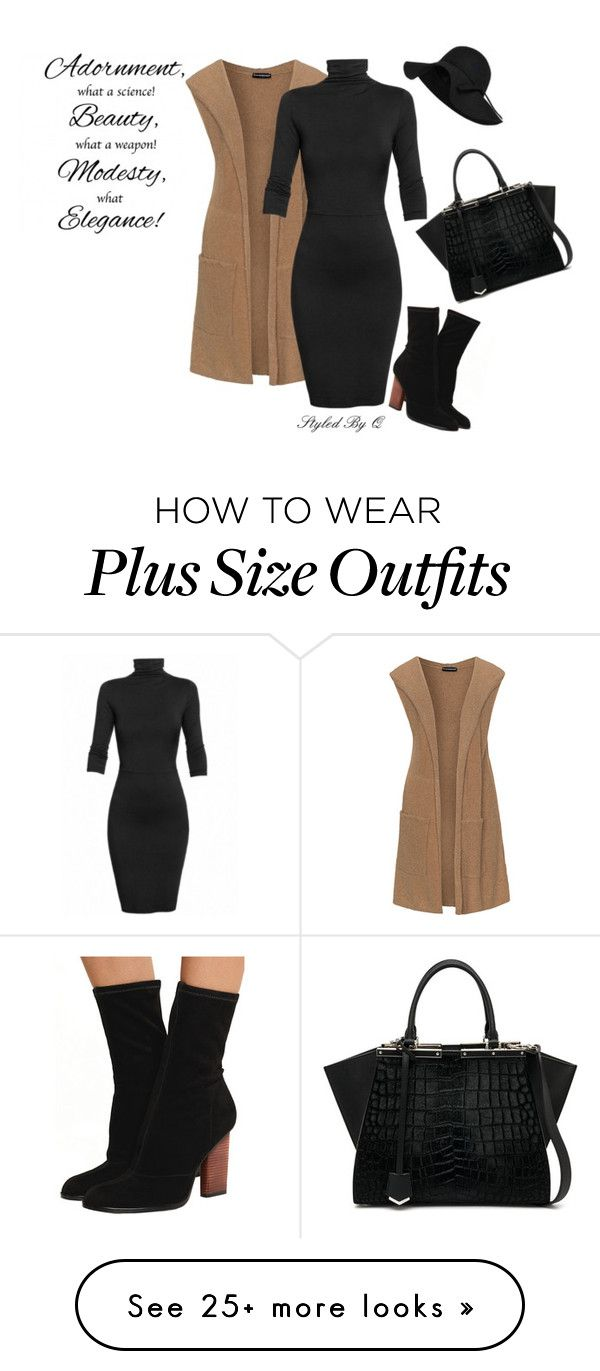 """""""Fall Style!"""" by quintan on Polyvore featuring Chanel, Alexander Wang, Samoon, Undress and Fendi"""