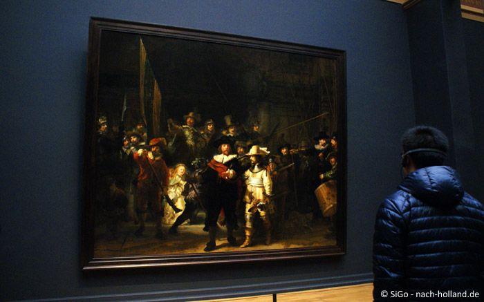 Die Nachtwache von Rembrandt im Rijksmuseum in Amsterdam  #amsterdam #rijksmuseum #niederlande #holland #netherlands