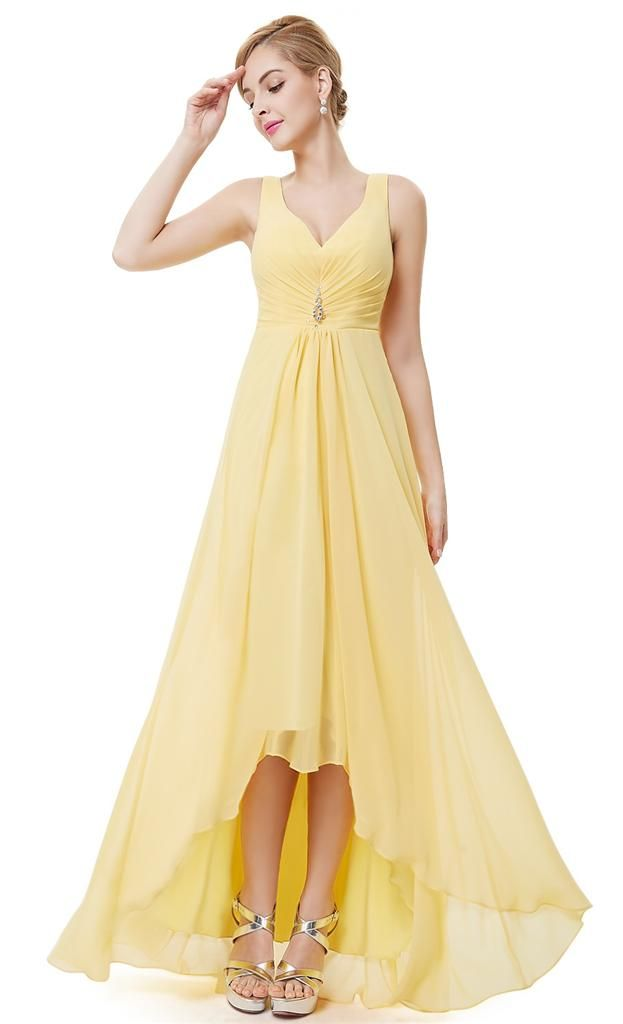 The 44 Best Images About Lemon Yellow Bridesmaid Dresses